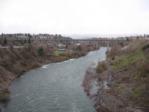Spokane River from the Monroe st. bridge