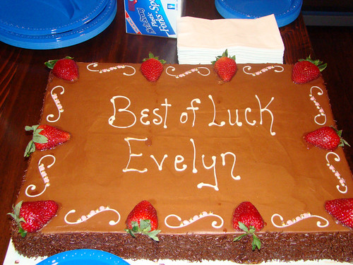 Best of Luck Cake