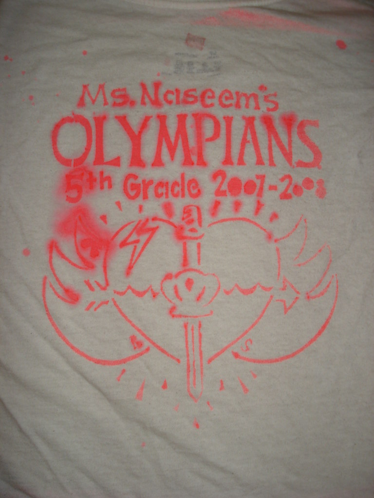 1st try, 5th grade t-shirt