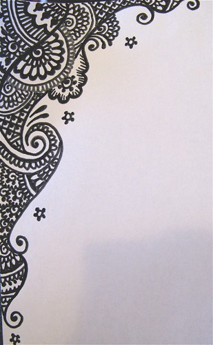 sketch for wedding invitation graphic