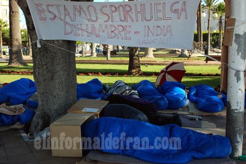 Indios en huelga de hambre 002 copia