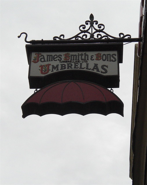 james smith & sons umbrellas.