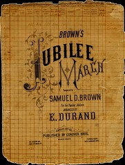 Old Sheet Music Page