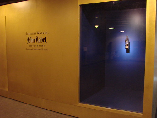 Johnnie Walker Blue Booth