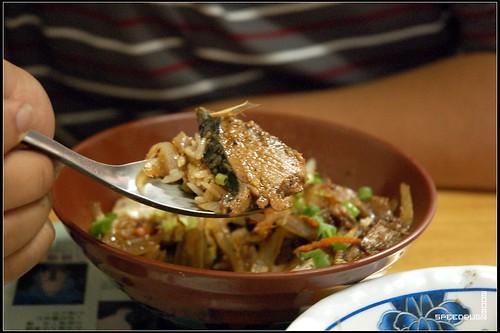 阿對麵店-鮪魚蓋飯