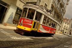 Always Coca cola (franz75) Tags: portugal electric d50 nikon lisboa lisbon tram number 28 cocacola carris hdr linea numero lisbona portogallo elettrico platinumphoto linea28