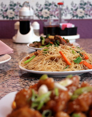 Asian Food on Table