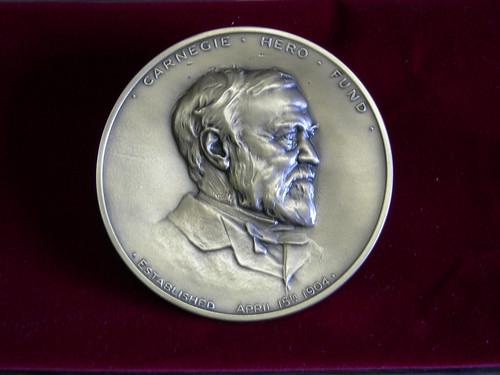 Frederick Carnegie Hero Medal Obverse