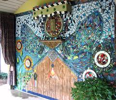 Shedaria interior wall mosaic WIP (Moe's Ache) Tags: mural mosaic ache moes cappi moesache shedaria
