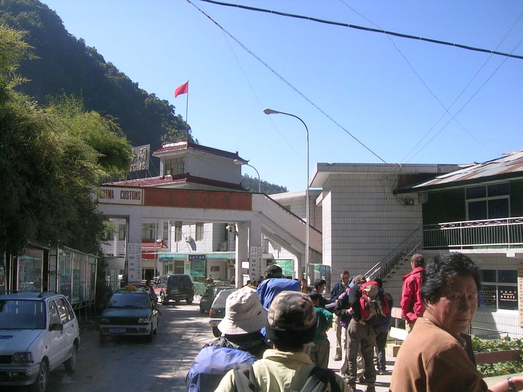 tibet-nepal border