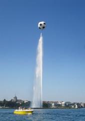 Nuestro paseo por el lago (Yadi...) Tags: espaa agua suiza geneve alemania 2008 uefa ginebra suiss eurocopa