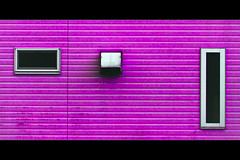 Horizontals: Purple (manganite) Tags: windows house abstract geometric topf25 colors lines japan wall digital buildings geotagged interestingness nikon colorful asia purple tl framed symmetry minimal explore  onecolor nippon d200 minimalism nikkor dslr minimalistic nihon kanto tsukuba ibaraki thecolorpurple interestingness410 i500 18200mmf3556 utatafeature manganite nikonstunninggallery abigfave date:year=2006 date:month=july date:day=31 geo:lat=36056441 geo:lon=140133356 format:orientation=landscape format:ratio=21