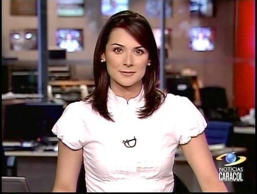 Noticias Caracol 20080318 Silvia Corzo