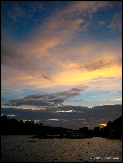 Golden Blue Sunset