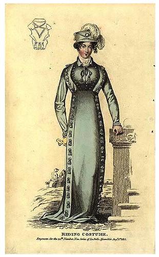 Riding costume, 1812