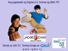 JACKIE CHAN ADVENTURES ON GMA 7 POSTER SAMPLE (onemark_digital) Tags: digital samples artworks kapuso gma7 usanimation onemark jackiechanadventures
