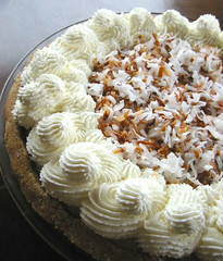 Coconut Cream Pie W/Brandy & Spices (cravinmaven) Tags: cake pie dessert yummy soft different yum coconut unique cream tasty fresh special eat spices brandy celebrate graham crackers creamy whipped toasted macaroons satisfy billowy