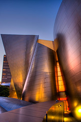 The Walt Disney Concert Hall - Los Angeles (imago2007 (BUSY)) Tags: california architecture canon photography virginia los bravo angeles wideangle disney v downtownla rebelxt frankgehry hdr concerthall virgie disneymusichall 1118mm pinoykodakero imago2007 pkchallenge litratistakami