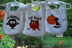 Halloween Bib Set