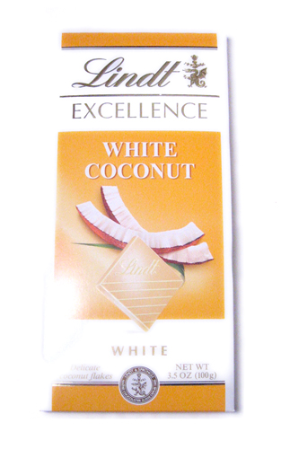 Lindt White Chocolate. Lindt: White Coconut
