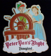 Peter Pan's Flight pin (Disney Dan) Tags: summer me pin pentax peterpan pins disney peter optio pan collectible 2008 collectibles waltdisney pintrading t10 pleasevisitwwwbracelandstk