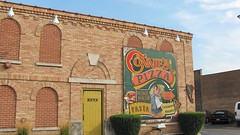 Chicago's Connie's Pizza at South Archer and Normal Avenues. Chicago Illinois. August 2008.