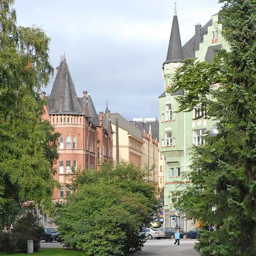 Calles de Helsinki Foto