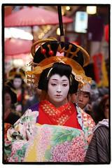 Oiran traditional parade (hashiee) Tags: from japanese traditional styles edo oiran