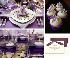 Purple Birthday Dinner (Tastefully Entertaining) Tags: birthday party cupcakes candles purple events invitation centerpiece dinnerparty decor placesetting entertaining linens tablesettings plaes tastefullyentertaining
