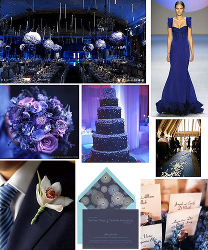 Navy or royal blue for wedding colors photo 193494-2