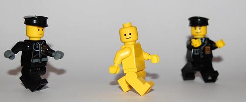 Lego Streaker (by minifig)