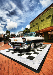 Classic in Old Town (` Toshio ') Tags: blue vacation sk