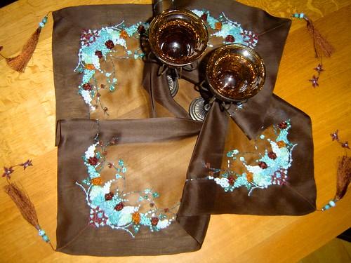 лента вышивка