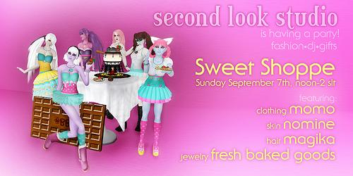 SLS Sweet Shoppe Promo Ad