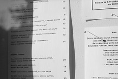 Restaurant Eloise/ outside menus (shunafish) Tags: northerncalifornia restaurant delicious lovely elegant sebastopol whiteonwhite eloise northbay worththetrip beautifulsetting classicfood professionalchefs secretgardenesque restauranteloise ginevraivorson erickorsh chefowners californiamediterraneancuisine dinnerwithdb prunerestaurantconnection husbandwifeteam whimsicalaesthetic wildflowersherbgarden fruitandveggardens anentiredinnerofappetizers stretchingtheingredientdrivencuisinepastitscomfortzoneintoamenualittlemorerefined ilovedphotographinghere friendlychefs touroftheirgardensbetweencourses chefcomraderie newyorkchefswhomigratewest sohappytheyrehere
