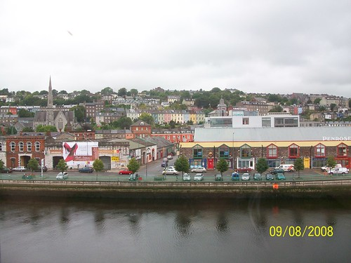 Ireland  Cork - view from our room at Jury's Inn