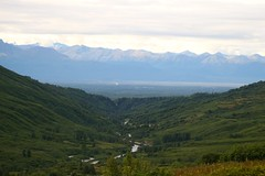 Looking South To Chugach Mountains