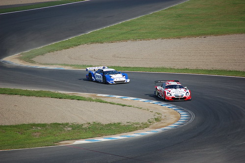 [2008 SUPER GT第7戦] EPSON NSX最後尾からの追い上げ