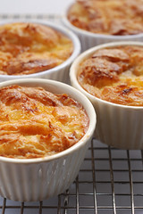 Croissant and Apricot Butter Puddings© by Haalo