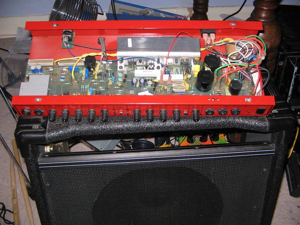 Schematic Request - Crate Td-70 Guitar Amp