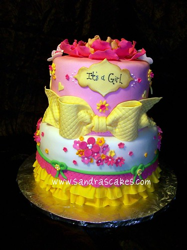 Perfect Butterfly Garden Baby Cake Decoration 375 x 500 · 125 kB · jpeg