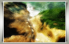 Fresh Pool (Finntasia old) Tags: ocean sea beach water beauty rock coast peace time tide fresh clear wash age shore worn tranquil águas divinas takeabow blueribbonwinner mywinners finntasia aguasdivinas nigelfinn
