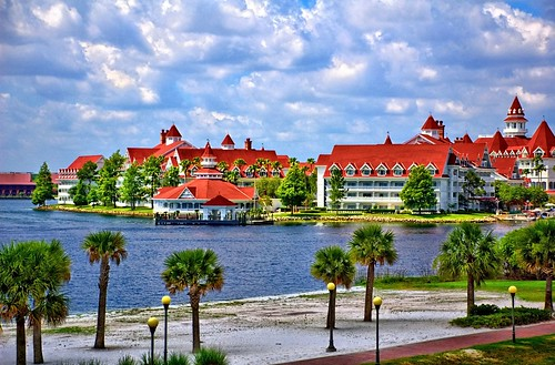 Disney Grand Floridian From Monorail - Express Monorail