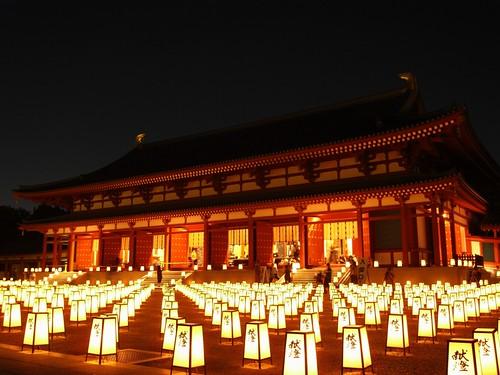 薬師寺(万燈会・夜)
