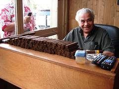 CigarRoller (15) (Rene10) Tags: history tampa photo cuba cigar historic safari cigars cuban ybor making tobacco rolling tabaco yborcity