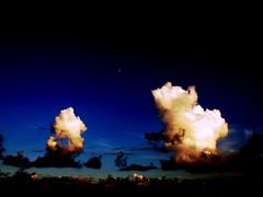 Cloud to Cloud (squitten) Tags: sky cloud night clouds taiwan 1001nights deutschetelekom invitedby