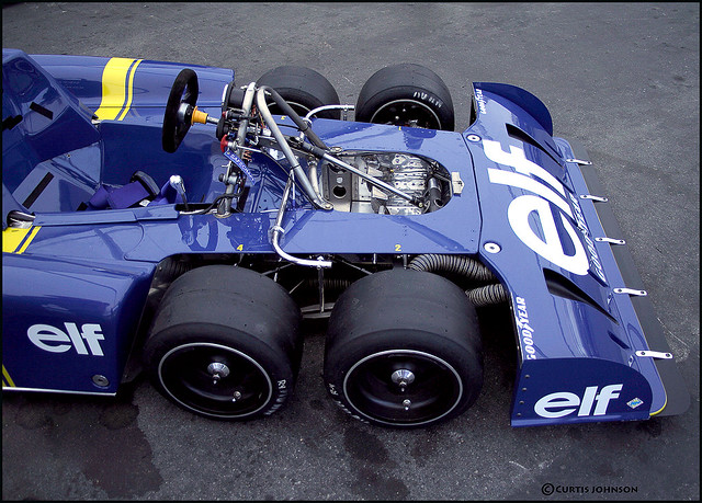 Tyrrell P34 1976 exposed