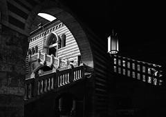 Scala della Ragione (Oriana Milani (poco tempo)) Tags: bw white black scale architecture stairs nikon exterior bn verona monuments monumenti architettura biancoenero esterni ilbiancoilnero neroamet
