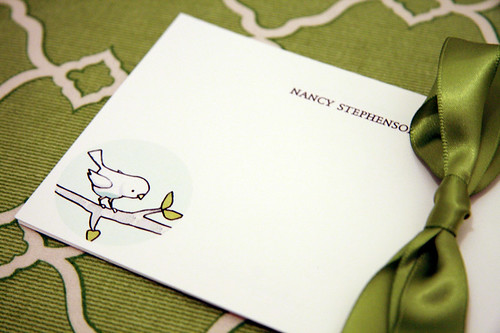 Bird Note Cards/ Correspondence Cards