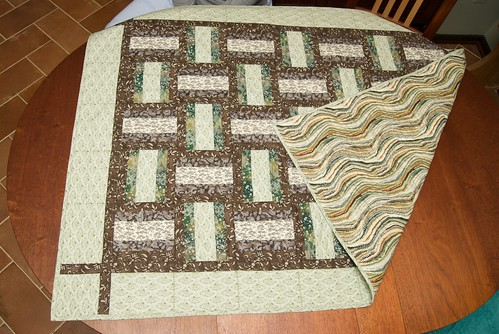 Woven Ribbons Quilt 10-19-08